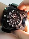 Sport Watch Unisex LED Mekanisk självuppdragande Digital Halsbandsklocka