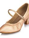 Chaussures de danse(Noir Argent Or) -Personnalisables-Talon Aiguille-Similicuir-Moderne