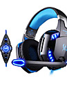 kotion chaque g2200 jeu casque usb 7.1 Entourer systeme de vibration de casque micro stereo rotatif mene