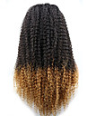 joywigs två ton brasilianskt jungfruligt hår gueless fulla spets front ombre människohår peruker för svarta kvinnor