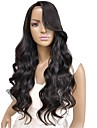 vente chaude haute cote ondule lache cheveux humains pleine / dentelle devant perruque pour les femmes