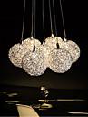 3W Hängande lampor ,  Modern Elektropläterad Särdrag for Flush Mount Lights / Ministil MetallLiving Room / Bedroom / Dining Room / Skaka
