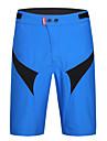 SANTIC® Cuissard de Cyclisme Homme Respirable Sechage rapide Resistant aux ultraviolets Limite les Bacteries VeloShort baggy Shorts