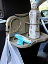 ziqiao bil fällbart ryggstöd nackstöd multifunktionella resa dining fack dryckhållare / telefonhållare