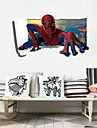 Tecknat / Fashion / folk Wall Stickers Väggstickers i 3D,PVC 60*90(23.6*35.4 inch)