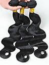 12-28inch brasilianskt jungfruligt remy hår förkroppsligar vinkar 3st mycket grade8a naturliga färg obearbetade humana hårförlängningar