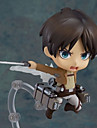 Attack on Titan Eren Jager PVC Figures Anime Action Jouets modele Doll Toy