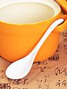 keramiska porslin skedar 1pcs eftermiddagste slumpmässig färg