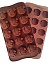 bakformen Djur För Tårtor För Pajer för muffin Silikon Hög kvalitet Teflonbehandlad Miljövänlig
