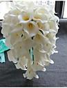Flori de Nuntă Cascadă Crini Buchete Nuntă Petrecere / Seară Poliester Satin