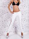 Mulheres Calcas Sensual Jeans Algodao Micro-Elastica Mulheres