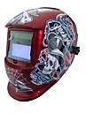 outils de soudage pirate batterie solaire li auto assombrissement tig mig mma masque de soudage / casques / cap / lunettes / masque les yeux