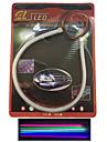 2 st avger rör leds mjuk lampa auto ögonbryn höjdpunkt ledde lampan lyser artikel 30 cm