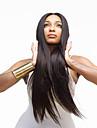 capless couleur noire longue duree de haute qualite naturelle des cheveux raides perruque synthetique