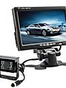 renepai® 7 pouces moniteur HD + bus 170 ° hd arriere de voiture camera  etanche longueur de cable 10m, 16m, 20m,