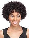 la mode afro crepus boucles couleur naturelle 100% perruques perruque de dentelle de cheveux bresilien avant