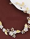 Mujer Cristal / Aleacion Celada-Boda / Ocasion especial Bandas de cabeza / Coronas 1 Pieza