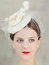 dantelă floare voal frunte păr fascinator pălărie bijuterii pentru femei pentru petrecerea de nunta