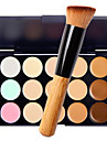 1pcs Foundation Brush Powder/Foundation Brush with 15 Color Concealer Makeup Kit Cosmetic brush with Face Makeup
