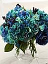 roses de soie fleurs artificielles fleurs de mariage 1pc / set