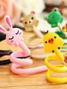 1pcs bande dessinee wrap organisateur rouleau de cable ecouteur animal cordon de casque enrouleur (couleur aleatoire)