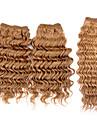 3st / lot 110g / st, 7a # 27 100% jungfruligt brasilianskt människohår väver buntar hårweft, nya djup våg, färgrik