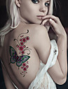 2 Tatouages Autocollants Series animales Dessins Animes Dessin-AnimeHomme Femme Adulte Adolescent Tatouage TemporaireTatouages