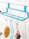 art de fer d\'armoires de cuisine type de porte-serviettes bipolaire tissu non-trace cremaillere pendaison couleur aleatoire