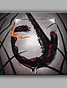 oljemålning modern abstrakt ren handen dra ramlösa dekorationsmåleri rödvinsglas