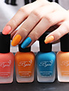4 st-bgirl nail art matt nagellack -16ml / flaska 01-04 (4 färger)