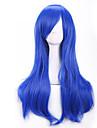 70 cm harajuku Anime Perruques colorees de cosplay jeunes longues synthetique perruque de cheveux blonds boucles perruques pour costume