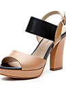 aokang® kvinnors läder sandaler - 132811036
