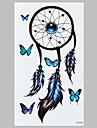1 Tatueringsklistermärken Ogiftig Mönster VattentätDam Herr Vuxen Tonåring Blixttatuering tillfälliga tatueringar