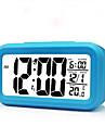etudiants a temps l\'horloge de cloche trois groupes chevet smart noctilucent reveil creatif horloge electronique muet