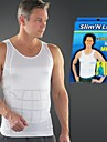 mäns bantning kroppen formare väst skjorta magmuskler buken smal