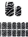 belles coree noir diamant diy 3d ongles autocollants