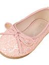 Platt sko ( Rosa/Vit ) - i Komfort/Rund tå - till FLICKA