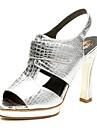 aokang® kvinnors läder sandaler - 342818031