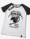 Inspirerad av Sagotema Cosplay Animé Cosplay-kostymer Cosplay T-shirt Tryck Gul Kort ärm T-shirt För Unisex