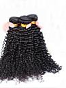 indiska lockigt jungfru hår cara hårprodukter obearbetade indiska jungfru hår kinky lockigt 3st människohår väver