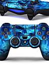 B-Skin-stil wrap hud passar för PS4 Dualshock 4 controller (styrenhet ingår ej)