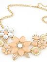 Pentru femei Coliere Flower Shape Perle Aliaj European de Mireasă Festival/Sărbătoare La modă Bijuterii PentruNuntă Petrecere Ocazie