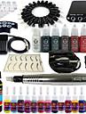 Electrique Kit de maquillage Crayons a Sourcils Levres Eyeliners Machines de tatouage5 Ligner rond 7 Liner rond 9 Liner rond 3 Ombrage