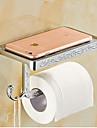 Toalettpappershållare,Modern Krom Väggmonterad
