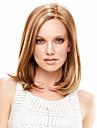 kvinnor korta cosplay lockigt syntetiskt hår peruk honungsbrun