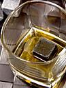 1pc pierres de whisky naturel en sirotant cube de glace vin champagne whisky roche bar refroidisseur cadeau alcool biere de mariage