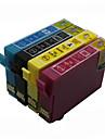 bloom®t1631-t1634 cartouche d\'encre compatible pour epson wf-2010w / wf-2510wf / wf-2520nf / wf-2530wf pleine encre (4 couleurs 1 jeu)