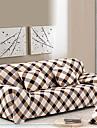 tight allomfattande soffa handduk möbelöverdrag halkfri tyg elastisk soffa locket (fuschia / ris vit / grön)