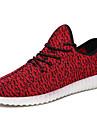 Femme-Decontracte-Noir Rouge Blanc Vert clair-Talon Plat-Confort-Chaussures d\'Athletisme-Tulle