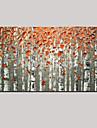 Handgeschilderde Landschap / Stilleven / Fantasie Olie schilderijen,Pastoraal / Europese Stijl Een paneel CanvasHang-geschilderd